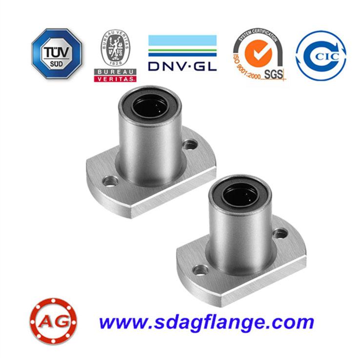 Aluminum alloy flanges