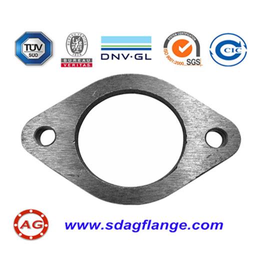 PN16 Carbon Steel Oval Flange