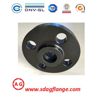 SWRF Steel Pipe Flange Forging DIN EN1092 Socket Weld Flange